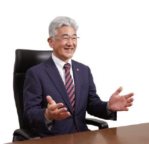 浜理薬品工業 代表取締役社長 髙美時郎