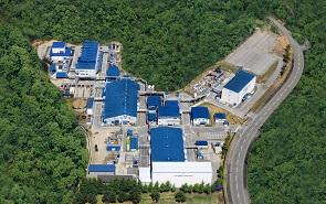 浜理PFST 米沢工場 航空写真