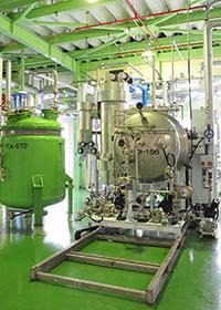 Thin-Film Centrifugal Low Pressure Evaporator