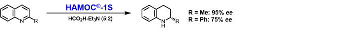 HAMOC 反応例 キノリン類